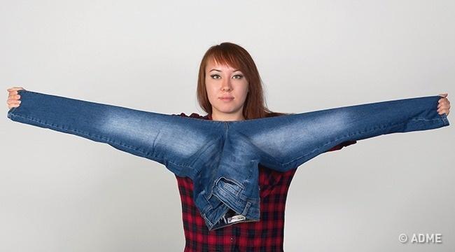 мерене на дънки без пробна