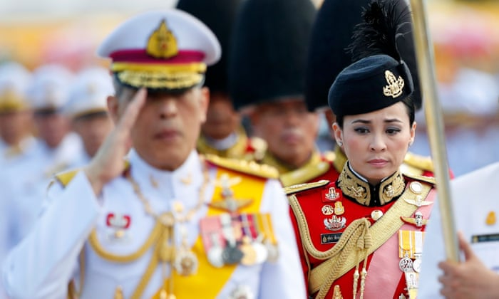 кралят на Тайланд бодигард