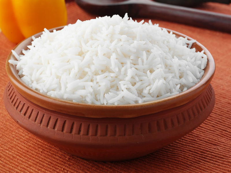 Накиснат ориз за почистване на ставите