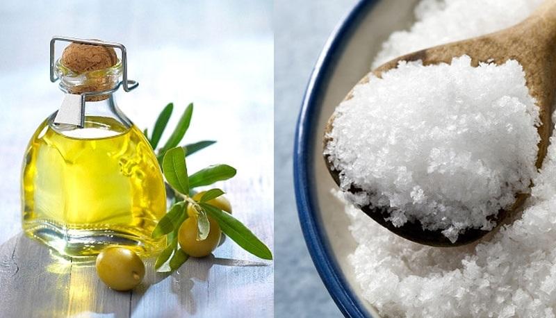 сол и масло срещу болка