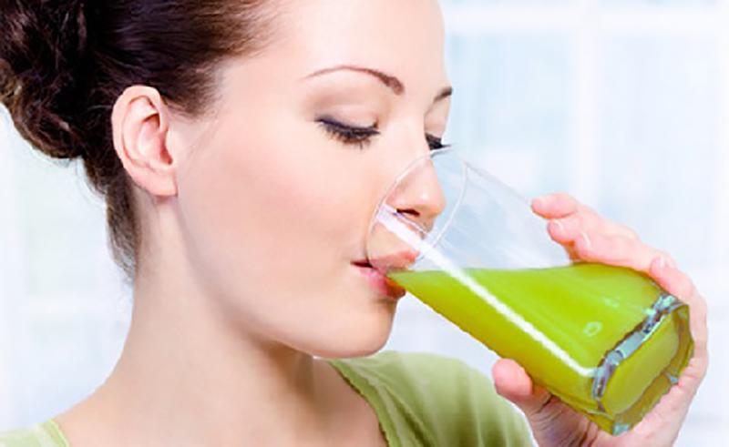 зелен сок за отслабване