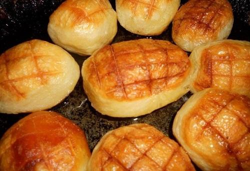 печени картофи рецепта