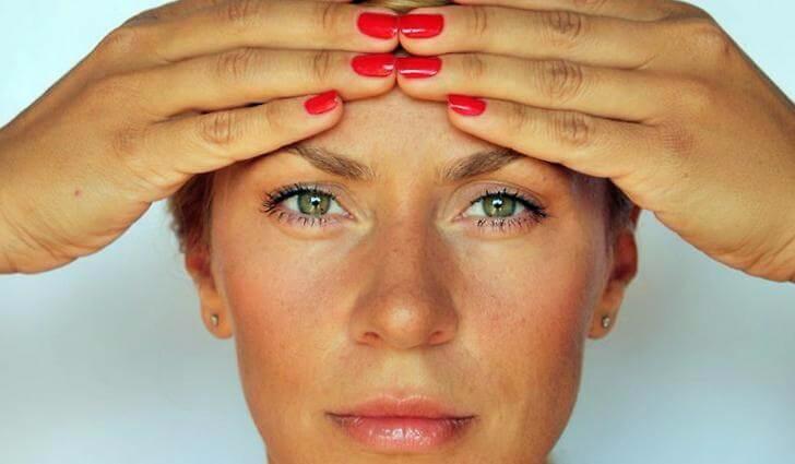 бръчки по лицето