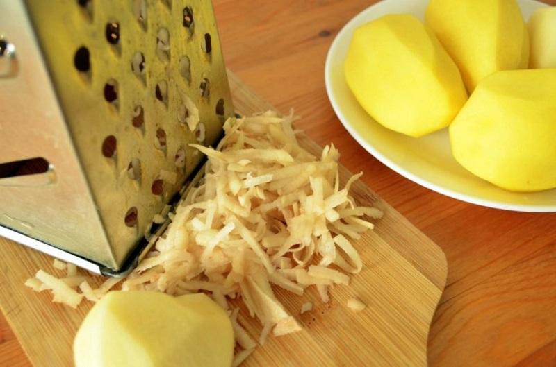 Картофи с гъби