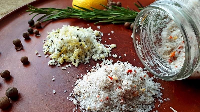 приложения на морската сол