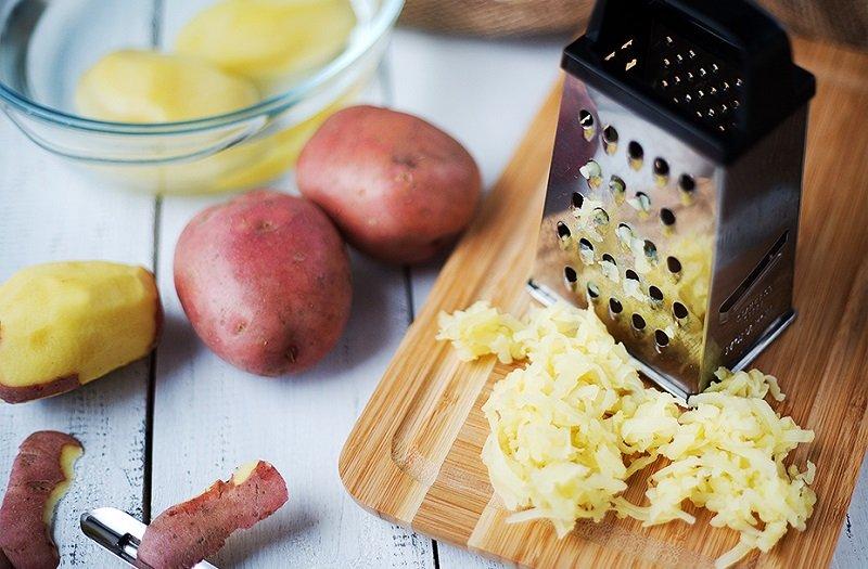 настърган картоф