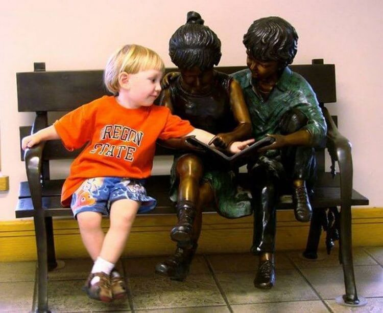 дете чете