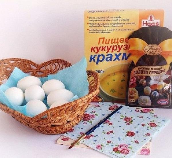 яйца с декупаж