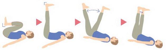 3 упражнения за стегнати крака