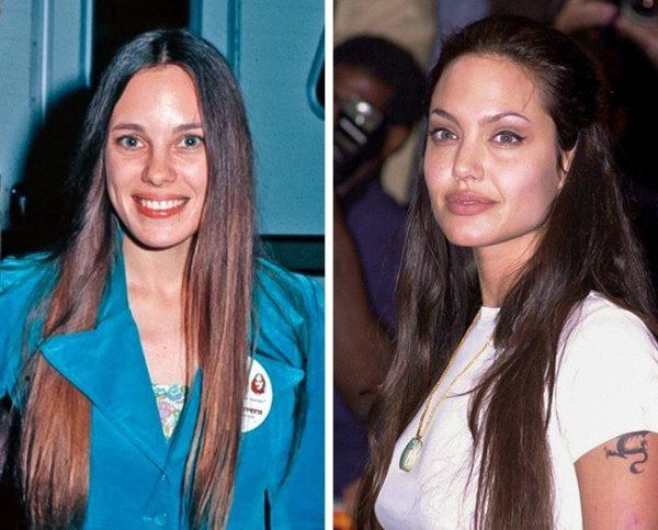 Анджелина прилича на майка си
