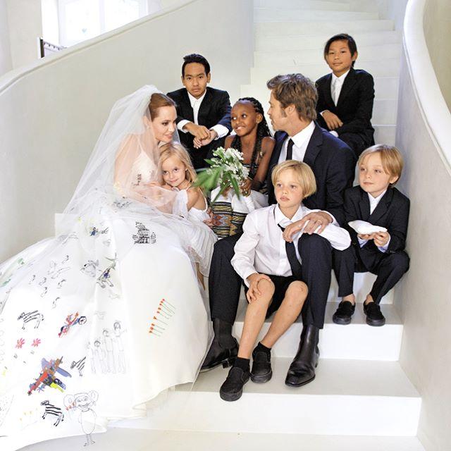 Анджелина и Брад деца