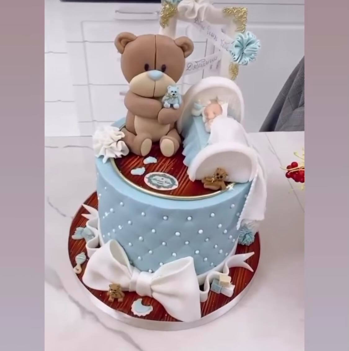 бебешка торта