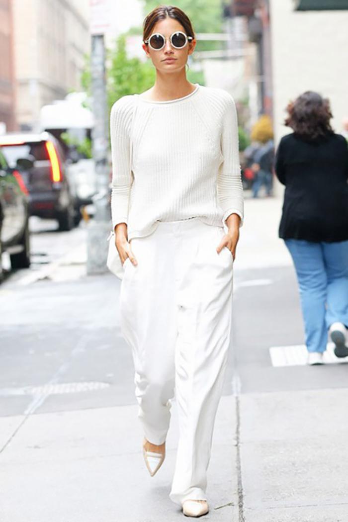бели панталони