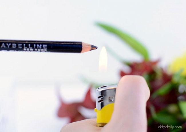 горене на молив