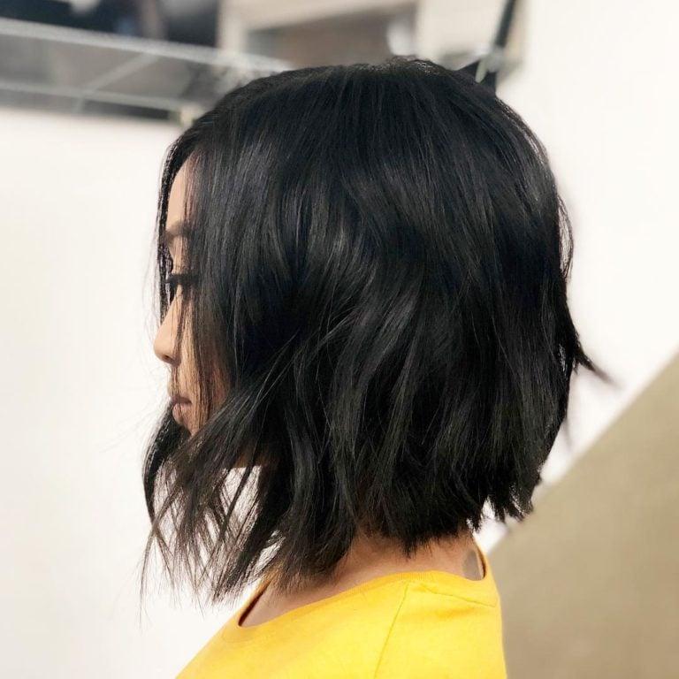 каскада на средна коса