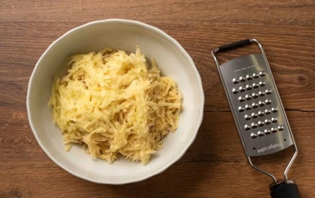 настъргани картофи