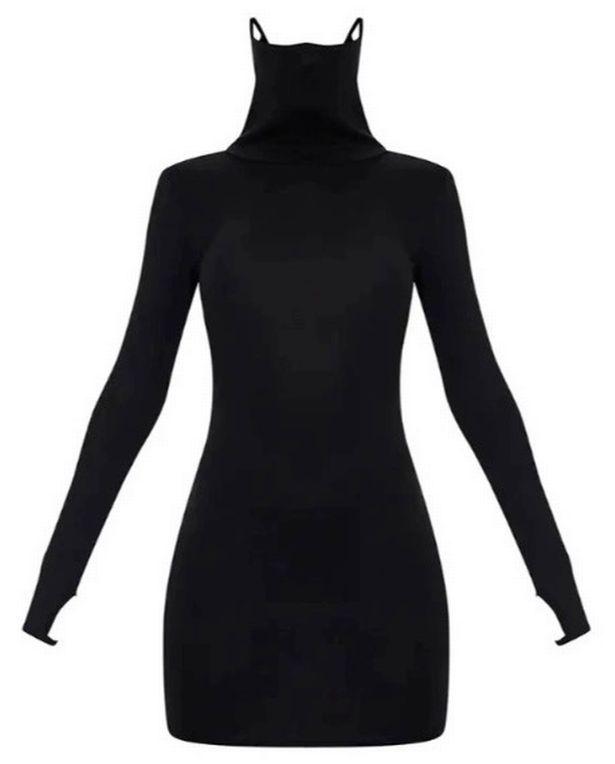 рокля с маска