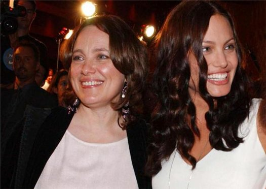 Анджелина Джоли и майка ѝ