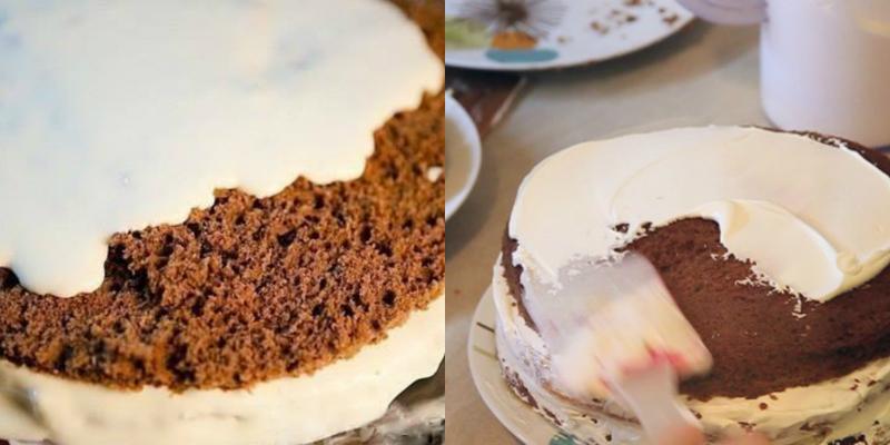 торта сметанник