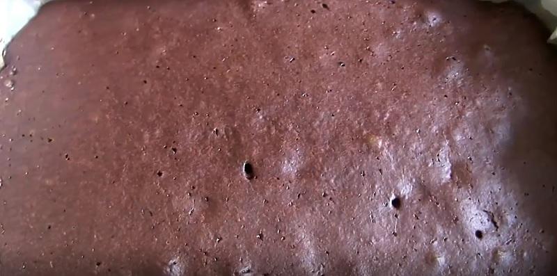 шоколадова торта без яйца