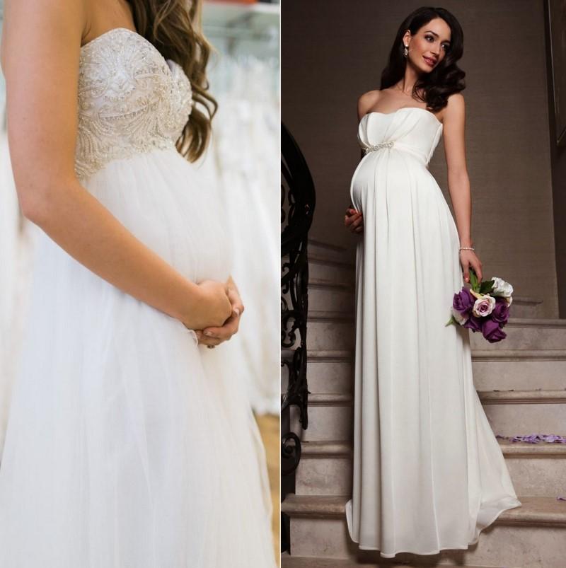бременна булка на 5 месеца