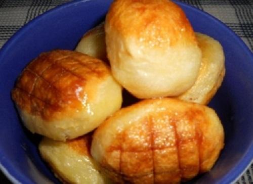 печени замразени картофи рецепта