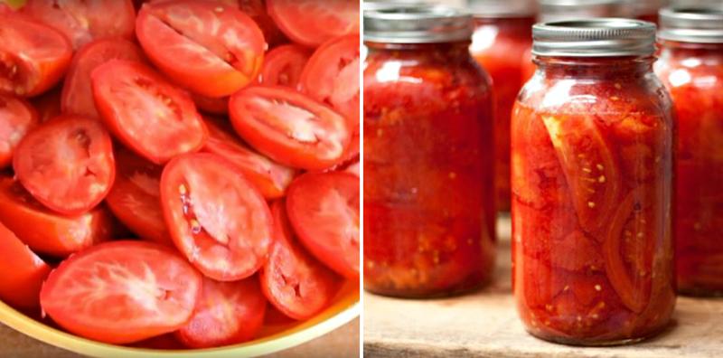 консервиране на домати за зимата