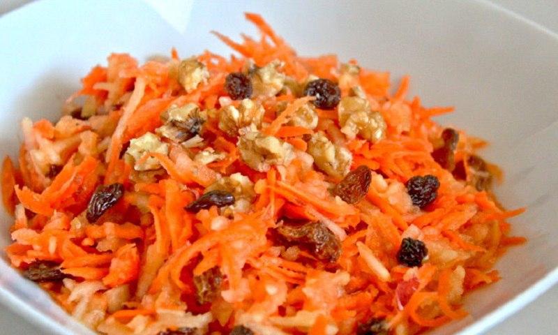салати с моркови
