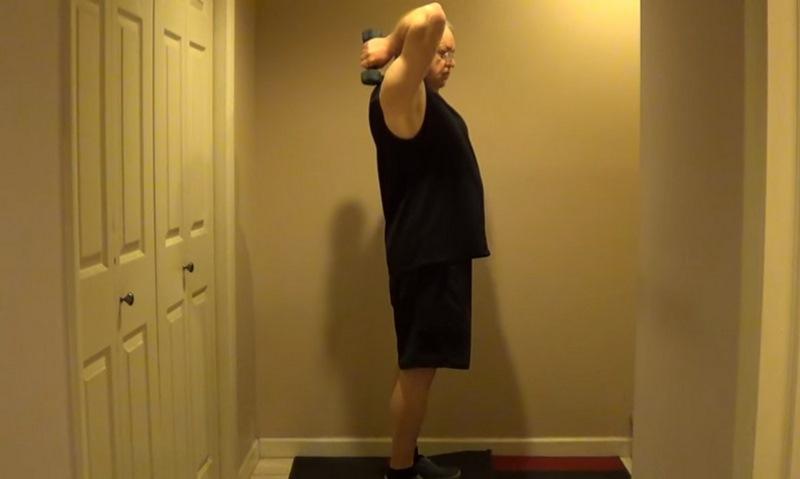 упражнения с еластична