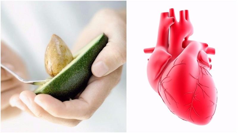 авокадо и сърце