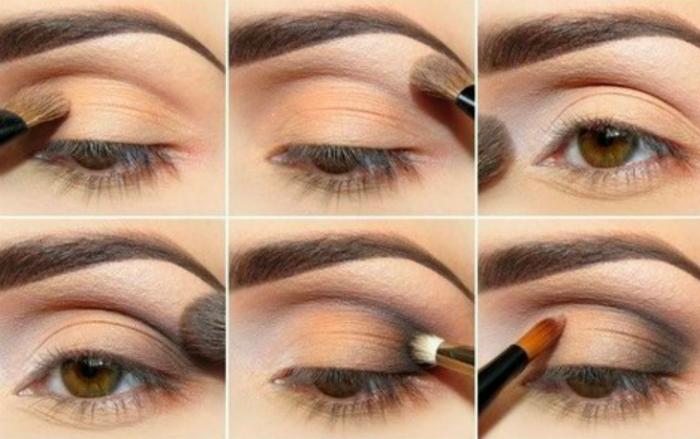 как да слагаме сенките за очи