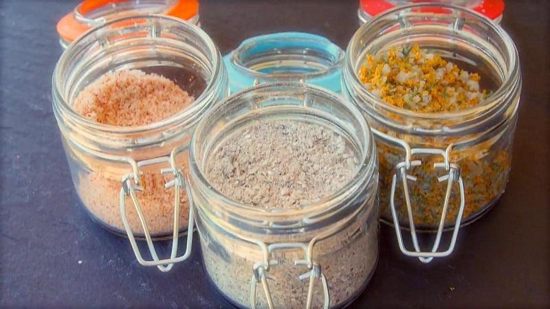 готвене с морска сол