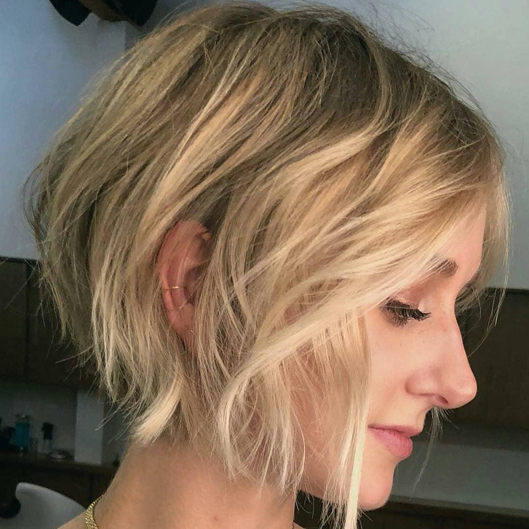 класически боб чуплива коса