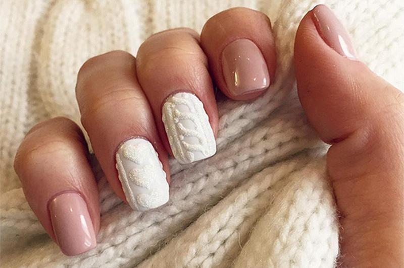 идеи плетени нокти
