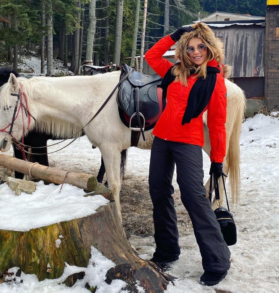 Есил на ски