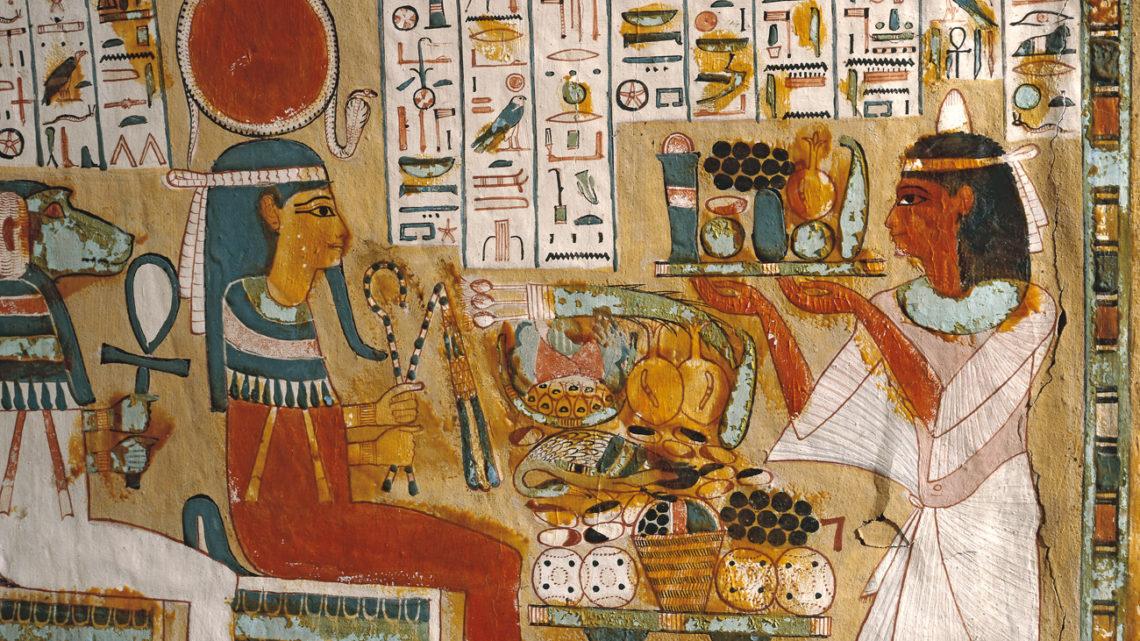 Бира Древен Египет