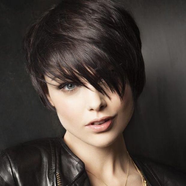 черно за къса коса
