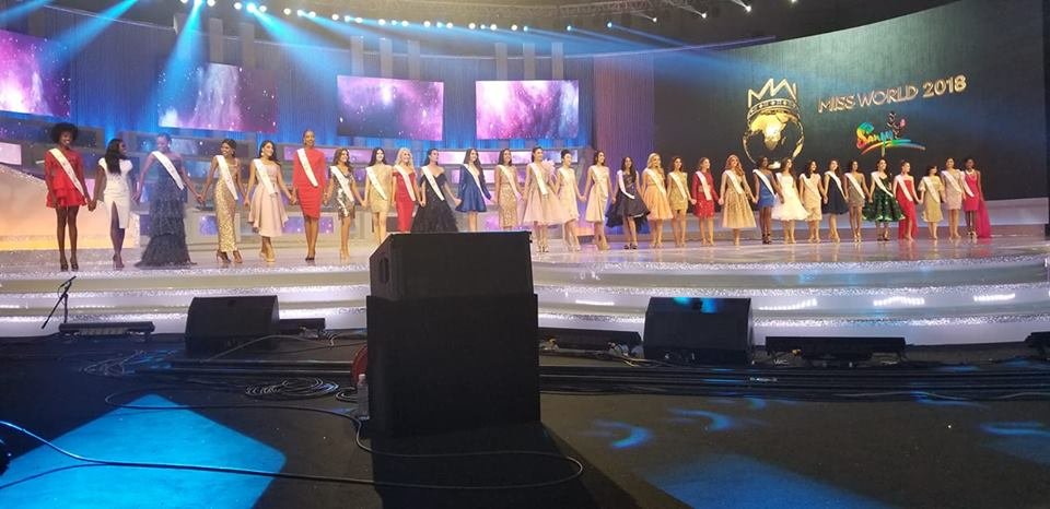 Участнички в конкурса мис Свят 2018