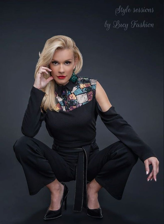 Мария  Игнатова лице мода