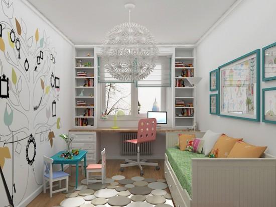 идеи за малка детска стая
