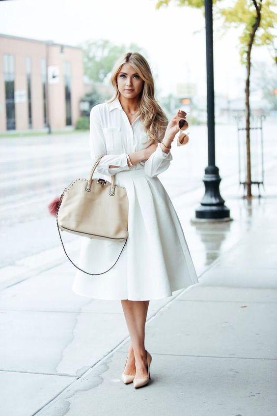 визия в пола в бяло