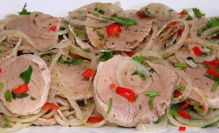 готвене на свинско месо