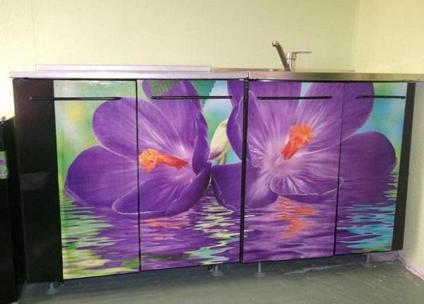 кухненски мебели с украса