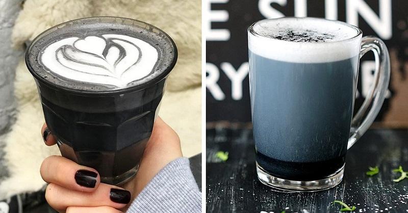 необичайно кафе с въглен