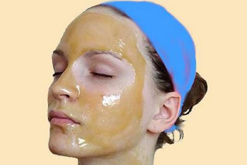 ленено масло за лифтинг маска