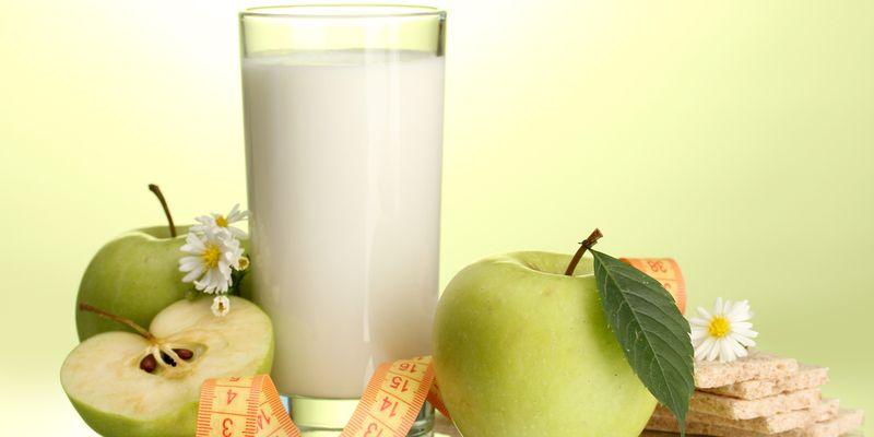 отслабване с мляко