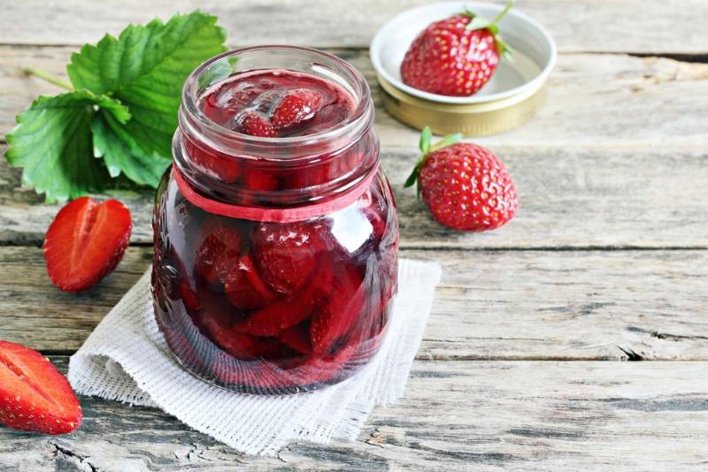 рецепта за сладко от ягоди