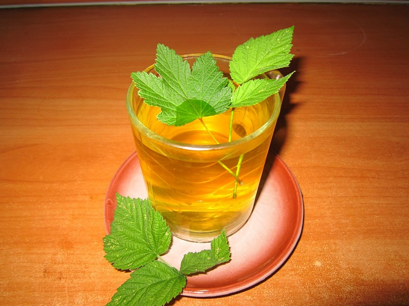 Чай от малинови листа