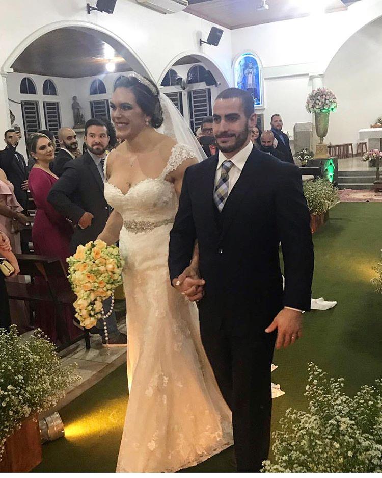 културистка сватба