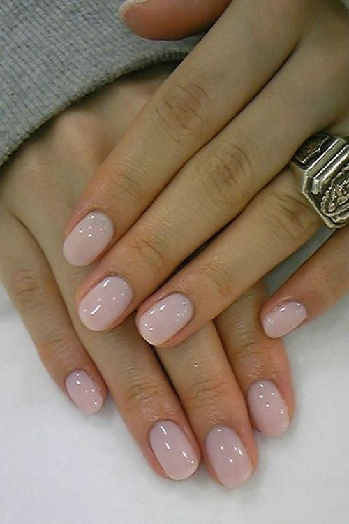 40 + Simple + Nail + Designs + for + Short + Nails + without + Nail + Art + Tools: